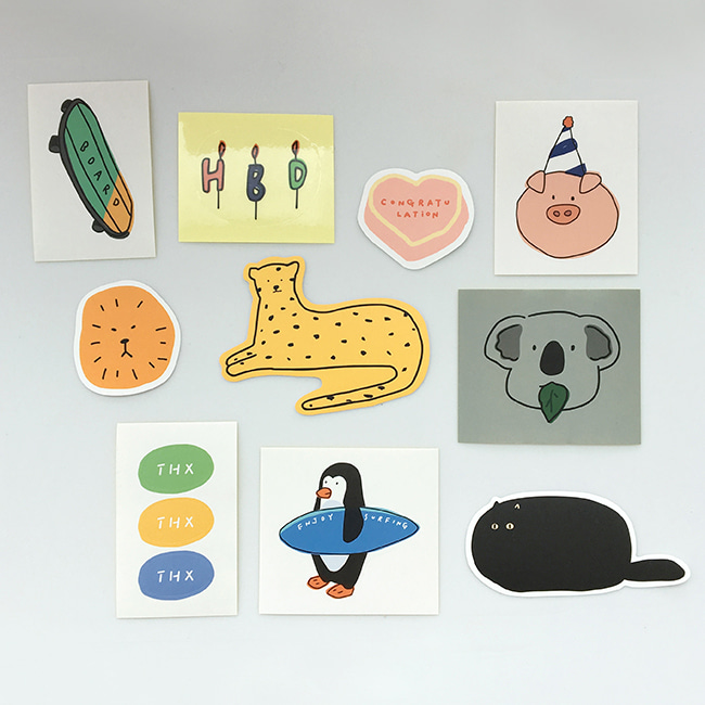 [ppp studio] animal sticker