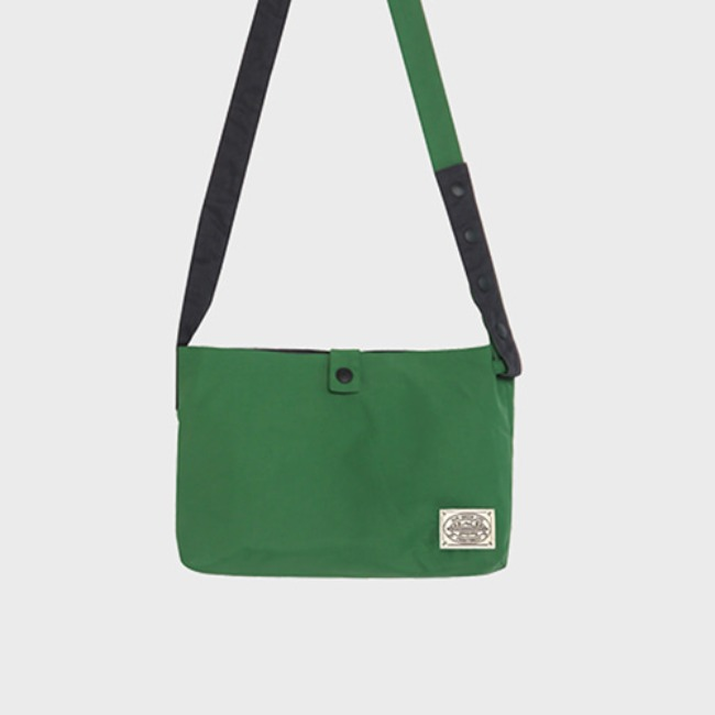 [공장] Reversible twoway cross bag_Forest green