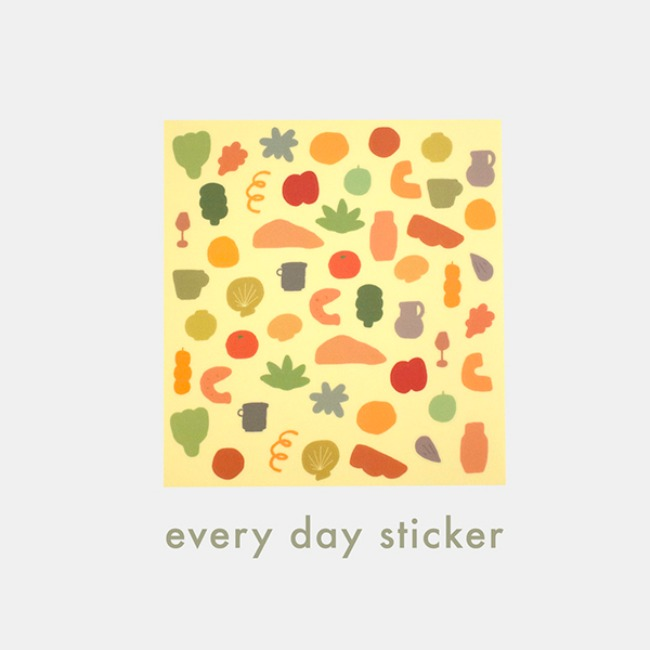 [ppp studio] everyday sticker